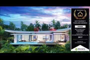 泰国苏梅岛3卧2卫新开发的房产