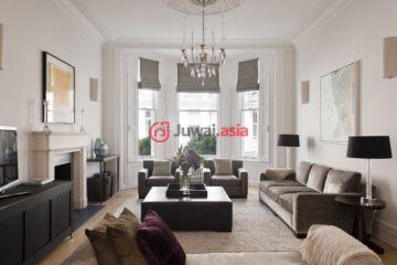 居外网在售英国5卧4卫最近整修过的房产总占地390平方米GBP 8,500,000