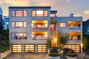 居外网在售美国5卧7卫最近整修过的房产总占地716平方米USD 3,990,000