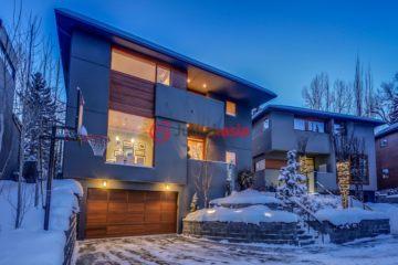 加拿大房产房价_阿尔伯塔房产房价_卡尔加里房产房价_居外网在售加拿大卡尔加里5卧4卫特别设计建筑的房产总占地843平方米CAD 2,075,000