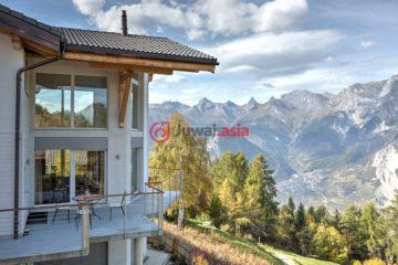 居外网在售瑞士5卧5卫特别设计建筑的房产总占地1平方米CHF 2,450,000