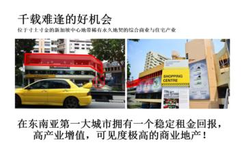 居外网在售新加坡新加坡SGD 6,900,000总占地254平方米的商业地产