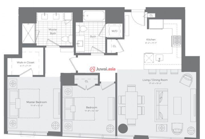 188平方套房设计图