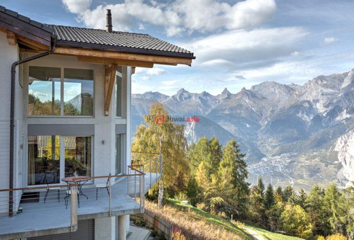 瑞士瓦莱州Haute-Nendaz的房产,Chemin de Tsamandon,编号36843491