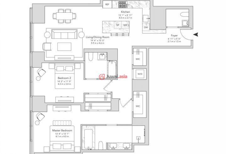 美国纽约州的房产,Hudson Yards,编号32250669