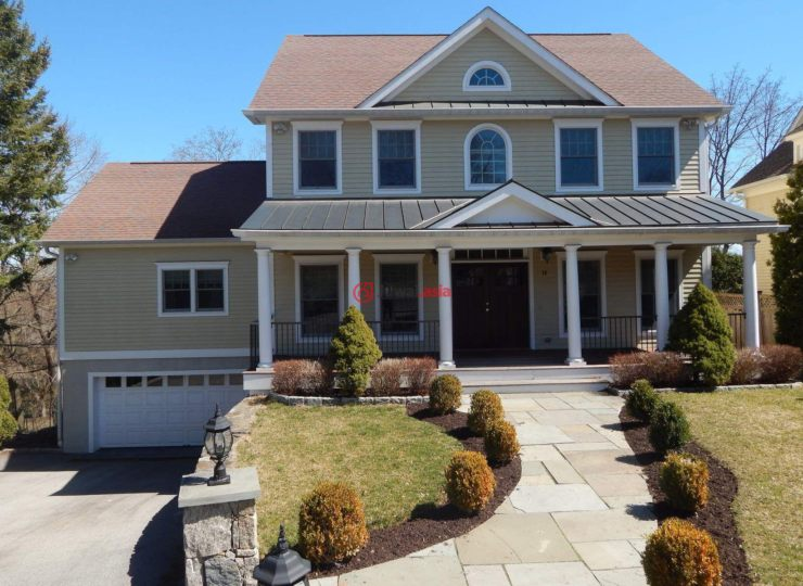 美国康涅狄格格林威治4卧3卫的房产顶层卧别墅主图片